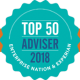 Top 50 Adviser 2018 Badge